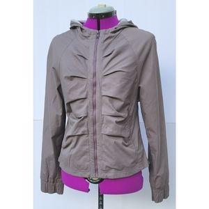 Lija Tennis Zip Front Ruched Jacket